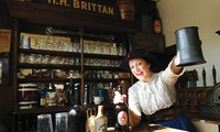 Brewery Tour for Up to Four with Three Beer Tasting at The National Brewery Centre (Up to 37% Off)
