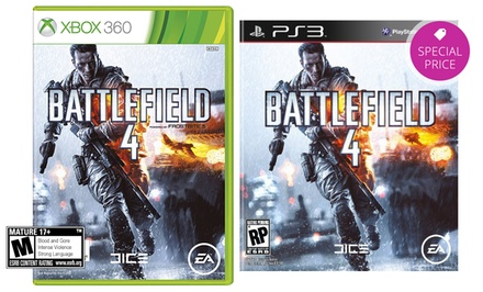 Battlefield 4 for PS3 or Xbox 360