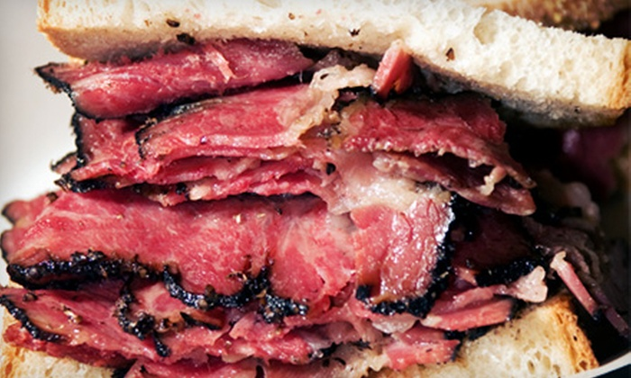 The Original Pastrami Club - Lauderhill: Deli and Bakery Food at The Original Pastrami Club (Up to 53% Off). Two Options Available.