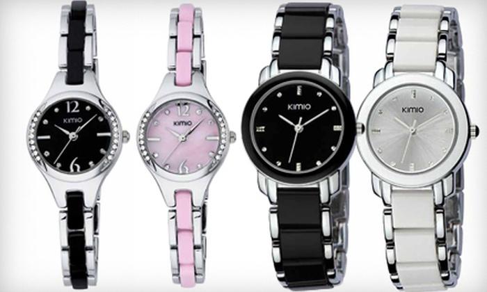 Fashion Time: Kimio or Eyki Wristwatch from Fashion Time (Up to 69% Off)
