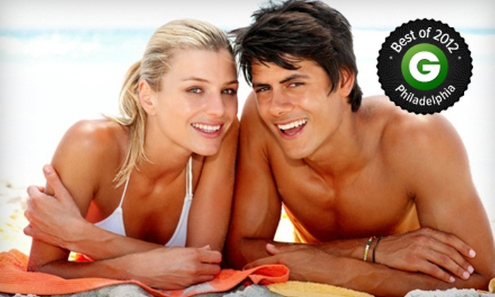 Essenza Day Spa - Ambler: Two or Four Full-Body Airbrush Tans at Essenza Day Spa (Up to 56% Off)