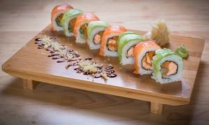 הסושיה סניף קריית אתא : הסושיה בקריית אתא: ארוחת סושי זוגית רק ב-99 ₪ או מגש סושי מסיבה ענק ב-199 ₪ בלבד. תקף כל יום עד חצות, כולל בשישי-שבת!