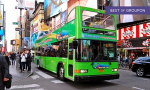 Go New York Tours: Downtown Water Tour for One or Two with Optional Hop-on-Hop-Off Bus Tour from Go New York Tours (Up to $41 Off)