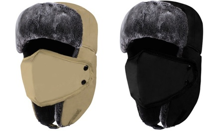 Faux Fur Trooper Hat