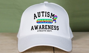 MyWalkGear.com: $9.99 for a Personalized Awareness Hat from MyWalkGear.com ($14.98 Value)