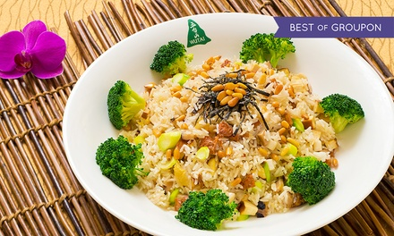 Chinese Food at Wutai Vegetarian Restaurant (Up to 42% Off). Three Options Available.