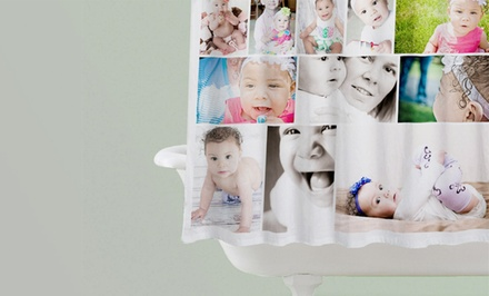 Collage.com Custom Photo Shower Curtain