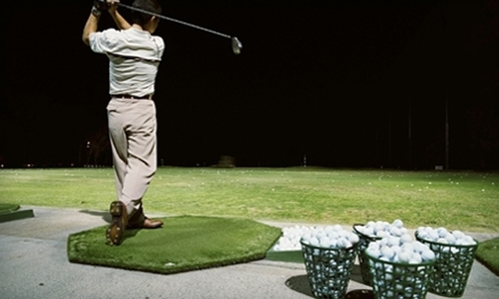Trails End Golf Center - Clackamette Park: $15 for Three Large Buckets of Driving-Range Balls at Trails End Golf Center ($30 Value)