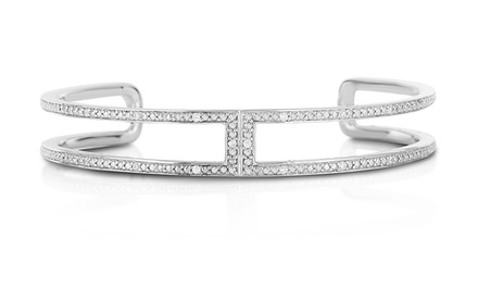 1/10 CTTW Diamond Bangle