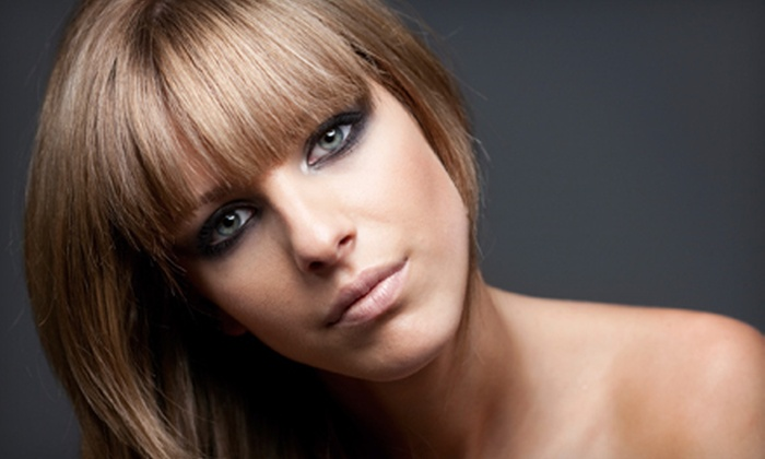 Gloss - Nashville: Haircut, Style, and Conditioning Treatment with Optional Partial Highlights at Gloss (Up to 74% Off)