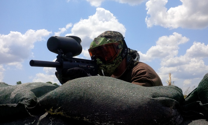 Hunt County Paintball - Greenville: Four-Hour Paintball Package for 6, 8, 10, or 12 at Hunt County Paintball (Up to 81% Off)