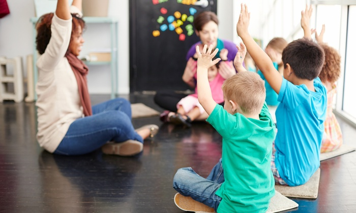 Gymboree Play & Music - Multiple Locations: One-Month Membership and Initiation Fee at Gymboree Play & Music (Up to 72% Off). Three Locations Available.