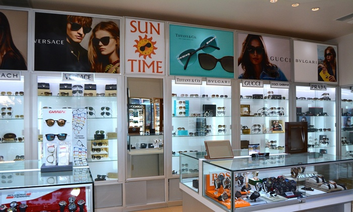 Sun Time - Multiple Locations: $19 for $40 Worth of Sunglasses — Sun Time