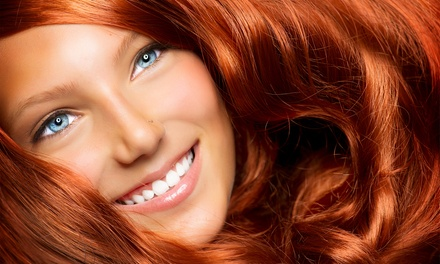 Haircut with Options for Single-Process Color or Partial Highlights at Looks Salon and Spa (Up to 56% Off)