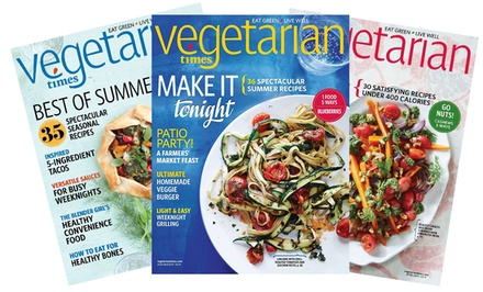 1-Year, 9-Issue Subscription to Vegetarian Times