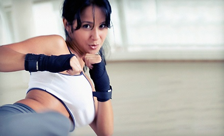 5 or 10 Women's Self-Defense Classes at Ronin Jiu-Jitsu (Up to 57% Off)