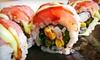 Ringo Japanese Restaurant - DePaul: $20 for a Four-Course Sushi Meal with Soup or Salad at Ringo Japanese Restaurant (Up to $52.30 Value)