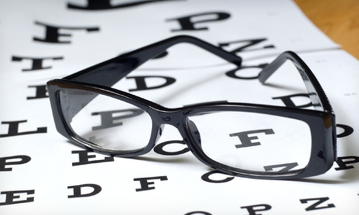 Icare Optical - Nampa: $65 for an Eye Exam and $100 Toward Glasses at Icare Optical ($220 Value)