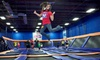 Half Off One Hour of Trampoline Time for Two