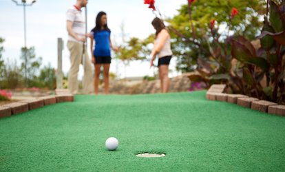 Up to 55% Off Mini Golf at The Hub at Berens Park
