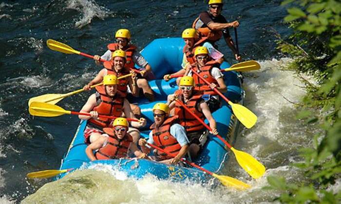 Whitewater Challengers - Multiple Locations: $45 for a Hudson River Whitewater-Rafting Trip from Whitewater Challengers in North River (Up to $97 Value)