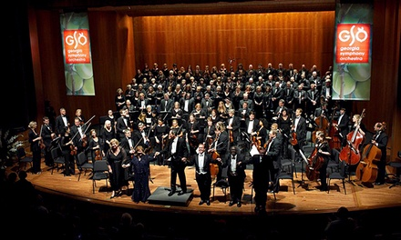 Georgia Symphony Orchestra Concert for One or Two on October 18–December 6 (Up to 64% Off)