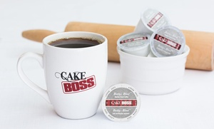 "Coffee Marvel: Pack of 72 ""Cake Boss"" Single-Serve Coffee Cups from Coffee Marvel (54% Off). Two Options Available."