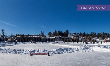 Stay with Daily Breakfast for Two at Golden Arrow Lakeside Resort in Lake Placid, NY. Dates into May.