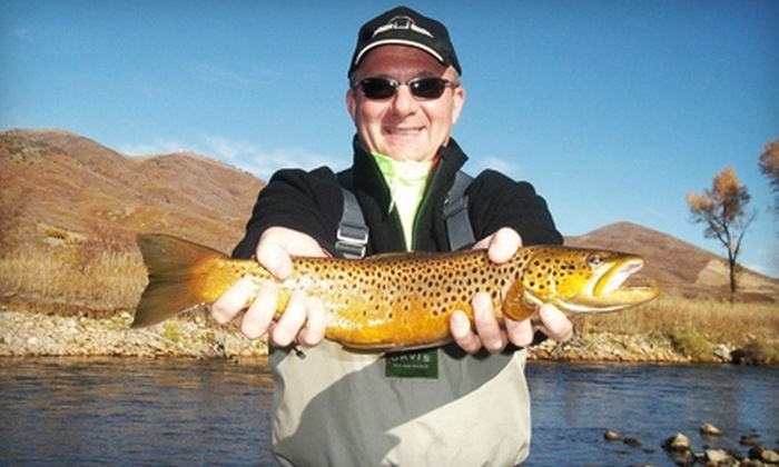 Park City Anglers - Summit Park: $175 for a Four-Hour Fly-Fishing Trip and Lesson for Two from Park City Anglers (Up to $364 Value)