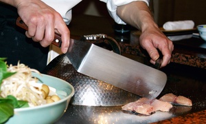 Ninja Japanese Restaurant: Japanese Cuisine and Teppanyaki at Ninja Japanese Restaurant (Up to 48% Off). Three Options Available.