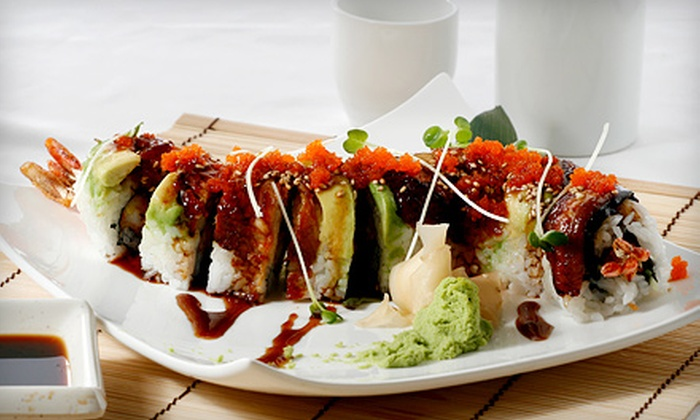 Amcook Fusion Cuisine - Amcook Fusion Cuisine: Sushi Meal with Appetizers and Regular and Specialty Rolls for Two or Four at Amcook Fusion Cuisine (Up to 66% Off)