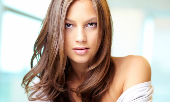 Van Buren's Salon - Haisley: $27 for a Haircut with Malibu Treatment or Redken Chemistry System Treatment at Van Buren's Salon ($56 Value)