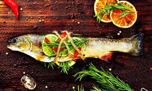 Restaurant PilPil Enéa: Merlu de ligne à l'espagnole avec accompagnements pour 2 personnes à 29,40 €au Restaurant PilPil Enéa