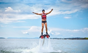 Find A Way Flyboarding: 30-Minute Flyboard Flight for One, Valid on a Weekday or Weekend Day from Find A Way Flyboarding (Up to 47% Off)