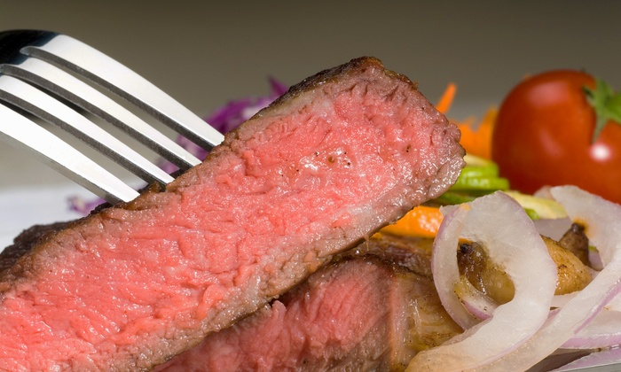 Johnny's Cafe - South Omaha: Steakhouse Dinner Cuisine for Two or Four at Johnny's Cafe (Half Off)