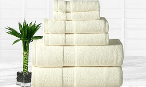 Heavyweight Bamboo-Blend Towel Set (6-Piece)