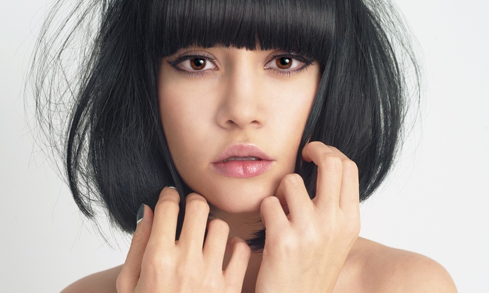 Mitsu Sato Hair Academy - Sassoon Academy School Connection - Overland Park: Women's Haircut and Style with Optional Color or Highlights at Mitsu Sato Hair Academy (Up to 54% Off)