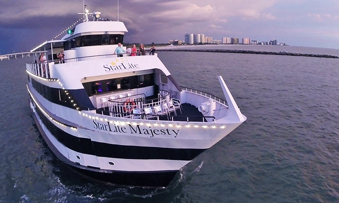 StarLite Cruises - Multiple Locations: $35 for an Evening Cruise for Two from StarLite Dining Cruises (Up to a $75 Value)