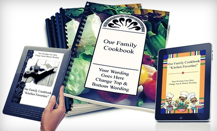 Cookbook-Making Software with 5 or 10 Optional Cookbooks from The Great Family Cookbook Project (Up to 83% Off)