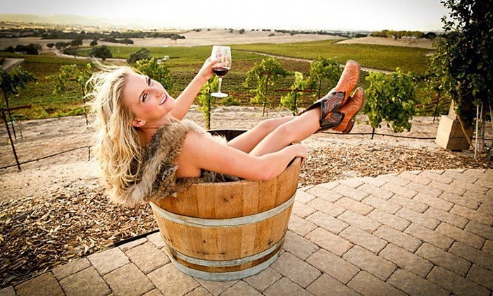 Vino + Therapy Studio - Atascadero: Paso Robles Wine Country Spa Package with Facial or Massagefor 1, 2, or 4at Vino + Therapy Studio (Up to 57% Off)