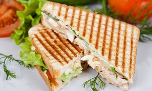 Green Bean: Create-Your-Own Healthy Wraps, Salads, and Paninis at Green Bean (Up to 49% Off). Two Options Available.