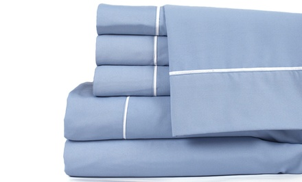New Season Home Microfiber 4pc or 6pc Sheet Set