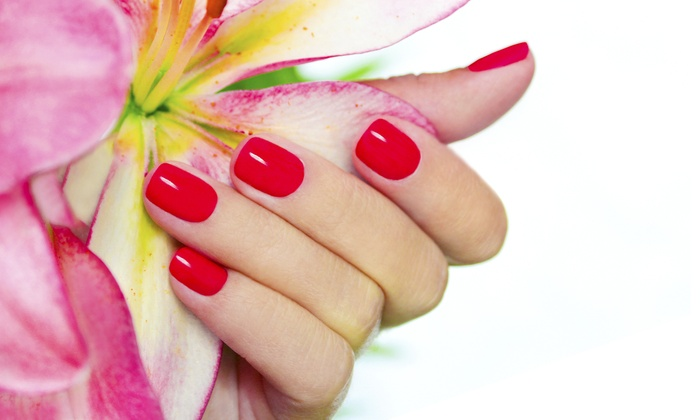 Gossip Salon Spa - Lower East Side: Shellac Manicure or Traditional Pedicure at Gossip Salon Spa (Up to 51% Off)