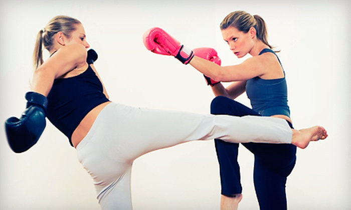 Fight Fit - Wood Dale: Two Weeks or One Month of Unlimited Drop-In Fitness Classes at Fight Fit (Up to 76% Off)