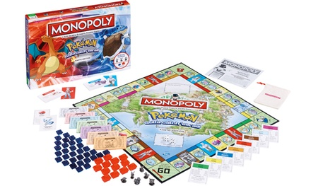 One or Two Pokémon Monopoly Board Games