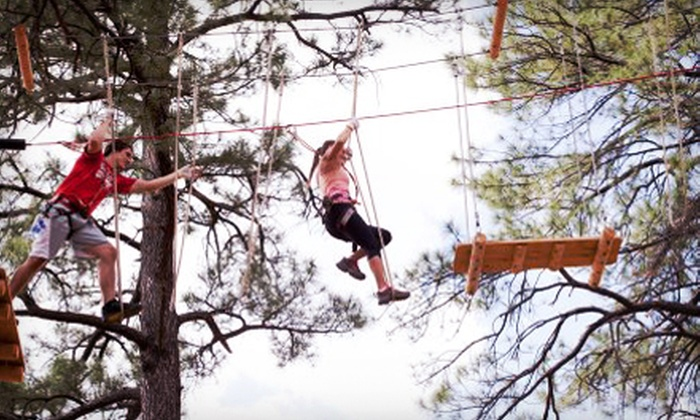 Flagstaff Extreme Adventure Course - Flagstaff : Entry to Outdoor Obstacle Course with Ziplines for Two or Four at Flagstaff Extreme Adventure Course (Up to 53% Off)
