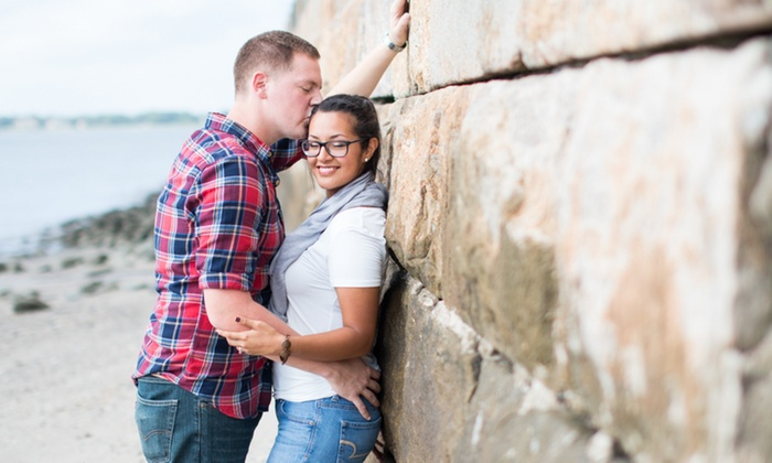 I Heart Charleston - Multiple Locations: 60-Minute Engagement Photo Shoot from I Heart Charleston (74% Off)