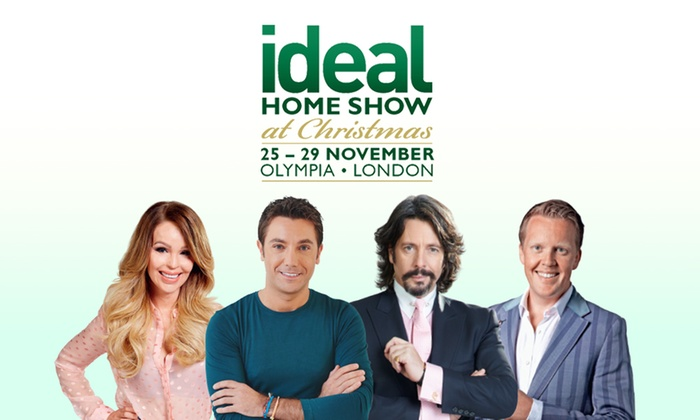 ideal home show for two 12 ideal home show at christmas groupon