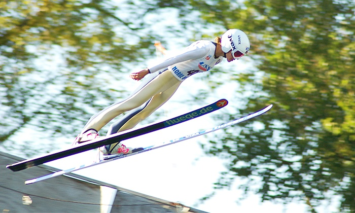 Norge Ski Club - Country View: 29th Annual Norge Autumn Ski Jump for Two, Four, or Six on October 4–5 at Norge Ski Club (50% Off)