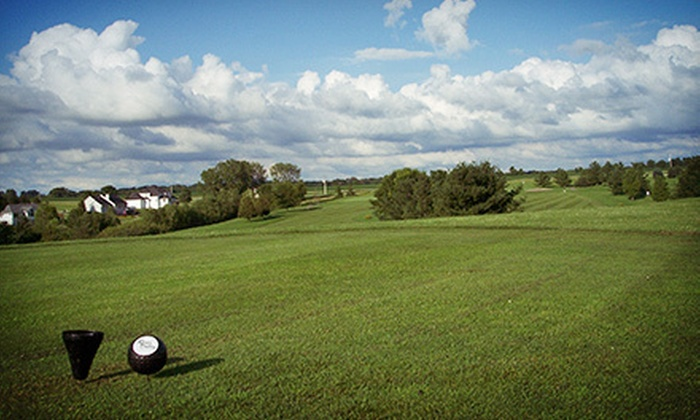 River Valley Golf Course - Adel: 18-Hole Round of Golf with Cart and Range Balls for One, Two, or Four at River Valley Golf Course (Up to Half Off)